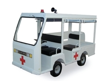 The Burden Master ambulance