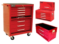 Tool chests and roller cabinets from Spacepac