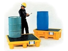 Ultra Spill Pallet supplied by Spacepac Industries