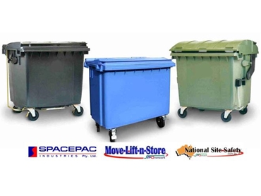 Commercial and Industrial Waste Bins