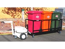 Wheelie Bin Ramp Trolley