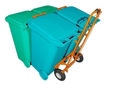 WheelieSafe bins trolley