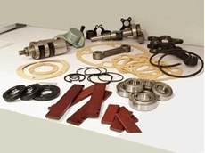 Vane and piston air motor repair kit