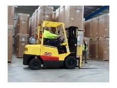 SpeedShield's clever forklift controls provide extra safety for pedestrians.