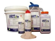 The Liquid Spill Lock acid neutralising solidifier