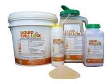 The Liquid Spill Lock alkali neutralising solidifier