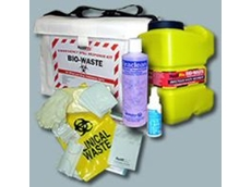 The new bio-waste spill kit.