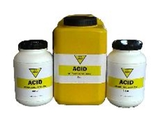 Acid, alkali, and biohazard absorbents
