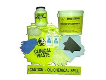 Laboratory and medical grade Spill Response Kits