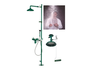 Emergency Safety Showers, Eye Wash Stations, Face Wash Units are portable