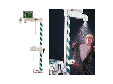 Australian and international standard compliant Emergency Safety Showers, Eye Wash Stations, Face Wash Units