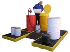 Floor bund spill decking available from Spill Station Australia