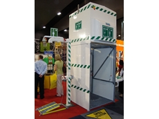 Hughes Safety Showers at Safety in Action trade show