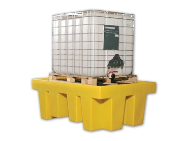 Single IBC spill containment units