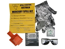 Mercury Absorbent Spill Kits from Spill Station Australia