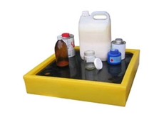100% chemically resistant Spill Response Equipment - Drip Trays, Catchment Trays, Storage Trays, Spill Trays from Spill Station