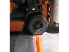No-bump drive over bunding - one of Spill Station's innovations at The Safety Show.
