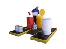 Spill Station Spill Decks customisable to suit your workplace's requirements