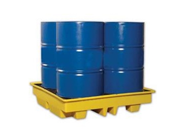 Broadband chemical resistant Spill Containment Pallets