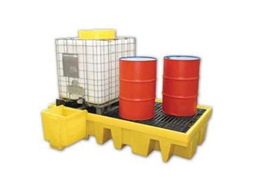 Spill Station's heavy duty Spill Containment Pallets, Spill Decks, Spill Trays and Drum Handling Equipment