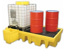 IBC spill containment units