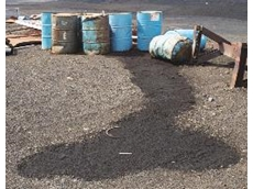 Waste oil collection made easy with Drum Funnel and Single Drum Dolly from Spill Station Australia