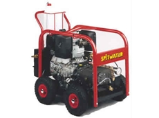 Diesel engine pressure cleaners