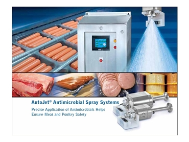 Antimicrobial Spray Systems prevent food contamination and keep food fresh for longer