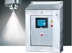 AutoJet antimicrobial spray system