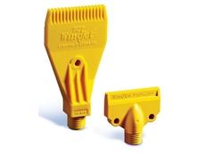 Compact WindJet air nozzles