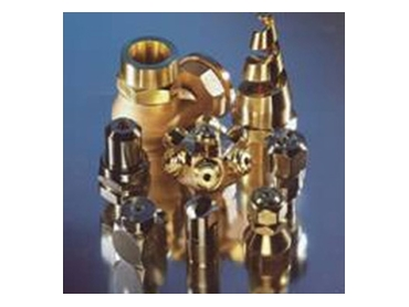 Industrial spray nozzles for a wide range of applications