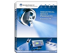 Spraying System's industrial spray products catalogue available