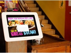 Engaging and visually appealing, Sprocket's LaunchPad interactive kiosks have streamlined the loyalty program at Hog's Breath