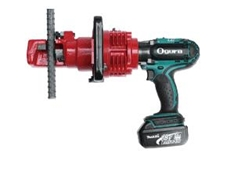 Ogura ORC19DF battery powered hydraulic rebar cutting tools available from Stainelec Hydraulic Equipment