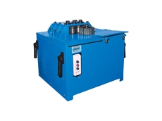 B&C spiral and ring rebar bender machines from Stainelec
