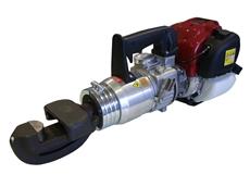 Edilgrappa's Model TPS-26n hydraulic rebar bender