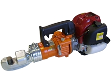 Model TPS-22n rebar benders can be fitted with optional heads