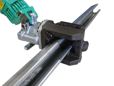 M-40L Electric Strut Cutter, Cutting 41 x 41 x 41 Galvanised Mild Steel Strut Material
