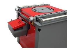 Icaro TP50/54 combination rebar cutter/bender machine