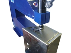 Hydraulic Hole Punching Equipment From Stainelec