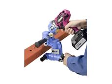 Kamekura RF-C5B cordless hydraulic stud puncher