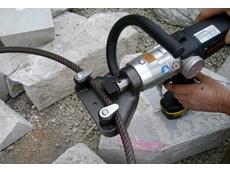 Model RD8-20 cordless rebar straightener