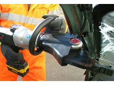 Cordless cutter or spreader for rescue operations