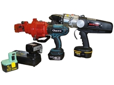 ORC-19DF 20mm cordless rebar cutters use Li-ion batteries for a significantly improved charge life