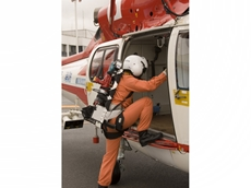 Ogura cordless cutters available with special harnesses for air rescue teams
