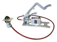 Stainelec's HP-3 FPA-0.5 oil pressure foot operated pump and punching head