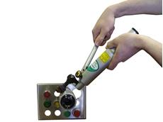 Cactus XP-3 hydraulic hole puncher