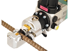 Stainelec present the latest rebar cutter from ARM Sangyo