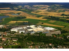 Aerial view of the Stiebel Eltron factory in Holzminden