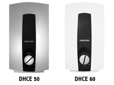The DHCE 50 and 60 instantaneous hot water units from Stiebel Eltron